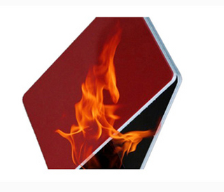 Aluminium panel/fireproof material/fireproof wall panels with fire resistance