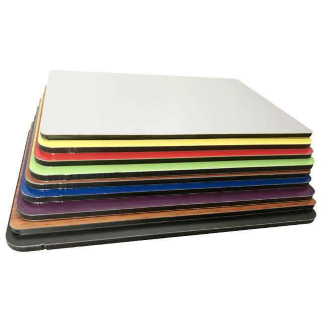 PET indoor aluminium composite panel/Alucobond ACP 4mm